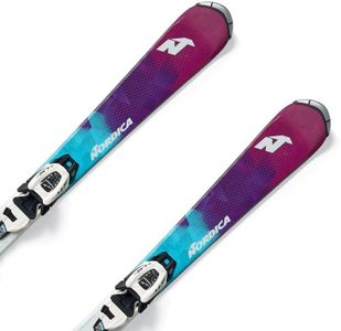 Nordica Little Belle Fdt (70-90) + Jr 4.5 - mint/violet