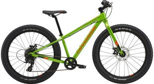 Cannondale Cujo 24 - Acid Green with Hazard Orange and Midnight Blue - Gloss (AGR)