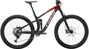 Trek Fuel EX 8 XT - rage red to dnister black fade