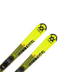 Volkl Racetiger Jr. yellow + vázání  7.0 VMotion Jr. R