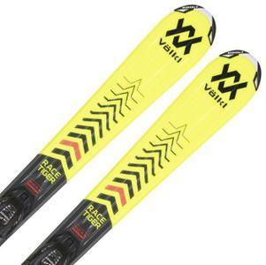 Volkl Racetiger Jr yellow vMotion + 7.0 VMotion Jr. R black/anthracite